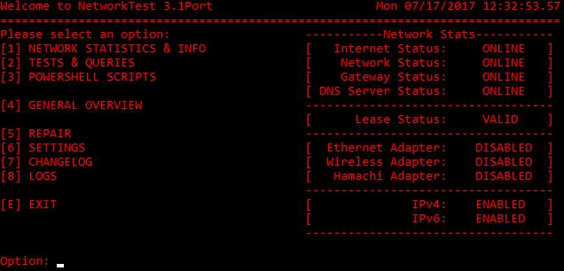 networktests